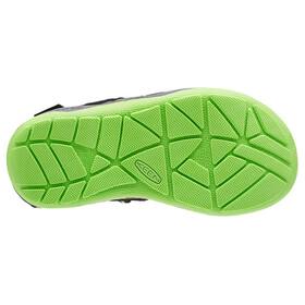 Keen Rock Iguana - Sandales Enfant - vert/noir